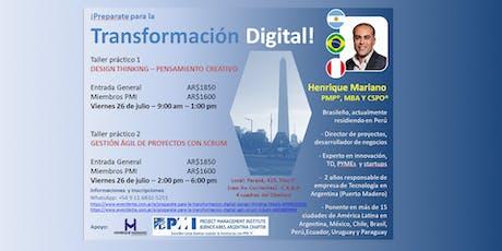 ¡Preparate para la Transformación Digital! - ÁGIL - SCRUM entradas