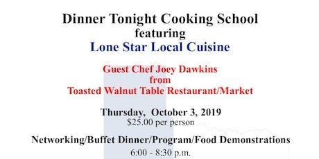 2019 Dinner Tonight Cooking School tickets