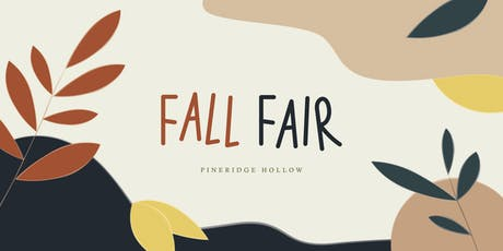 Pineridge Hollow Fall Fair 2019 tickets