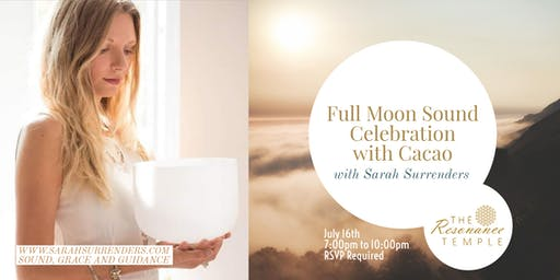 Full Moon Sound Celebration with Cacao