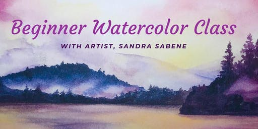 Beginner Watercolors with Sandra Sabene