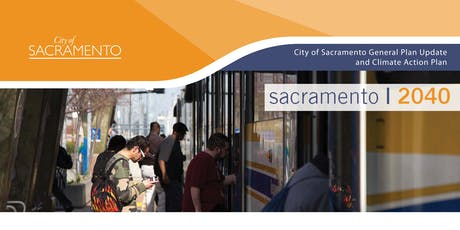 Sacramento 2040 | South Area Community Plan Area Meeting tickets