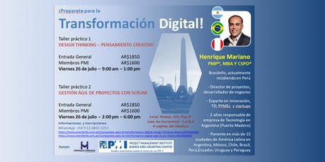 ¡Preparate para la Transformación Digital! - Design Thinking entradas