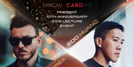 Svngali & Cardvo Presents Alex Pandrea and Edo Huang Singapore Lecture 2019 tickets