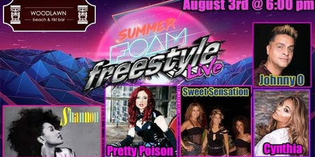 Shannon, Johnny O & Cynthia - Summer Foam Freestyle tickets
