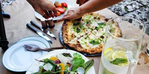 Genuine Pizza Cookbook Pop Up Dinner