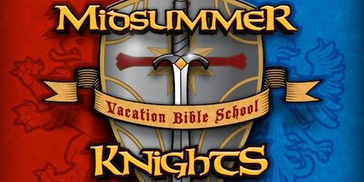 Midsummer Knights Vacation Bible School