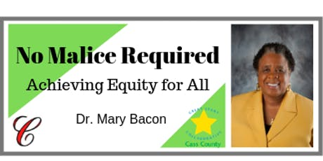 No Malice Required: Achieving Equity for All tickets