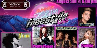 Sweet Sensation & Pretty Poison - Summer Foam Freestyle