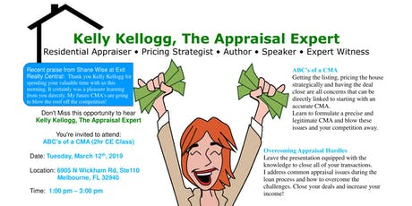 ABCs of a CMA with Kelly Kellogg (2 Continuing Ed Credits) tickets