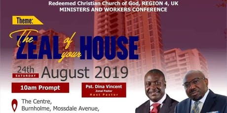 RCCG Region 4 Province 1 Zone 1 Workers and Ministers Conference tickets