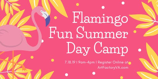 Summer Day Camp - Flamingo Fun! *SOLD OUT*