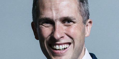 Drinks & Canapes with the Rt Hon. Gavin Williamson tickets