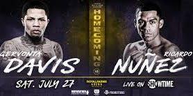 Davis vs Nunez Showtime Boxing Series