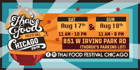 Thai Food Festival Chicago 2019 tickets