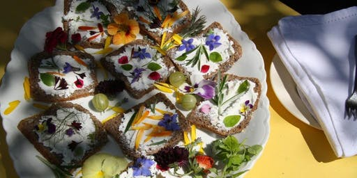 Picnic Among The Flowers - A British Fare