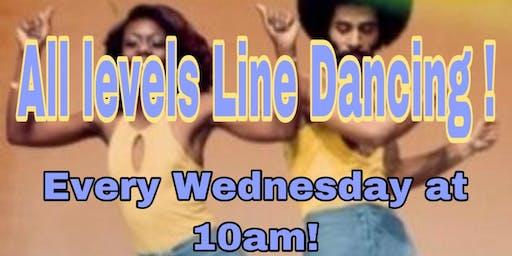 All Levels Line Dancing