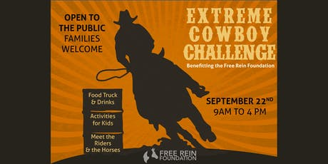 Extreme Cowboy Challenge-September 22nd tickets