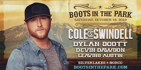 Boots in the Park - SilverLakes with Cole Swindell, Dylan Scott, Devon Dawson, Leaving Austin & More tickets