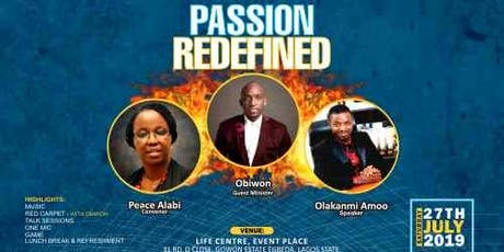 Passion Redefined tickets