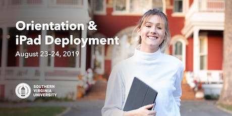 Orientation & iPad Deployment - Fall 2019 tickets