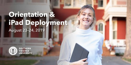 Orientation & iPad Deployment - Fall 2019