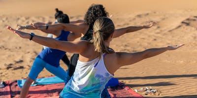 Free Yoga & Morocco Pop Up