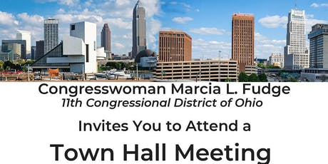 Congresswoman Marcia L. Fudge Town Hall Meeting August 3, 2019 tickets