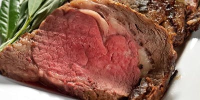 Uncle Tony's Applewood Smoked Prime Rib Dinner
