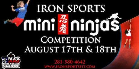 Mini Ninjas Competition tickets