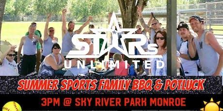 Stars Unlimited: Summer Sports Family BBQ & Potluck tickets