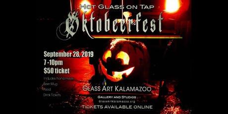 Hot Glass On Tap - Oktobeerfest 2019! tickets