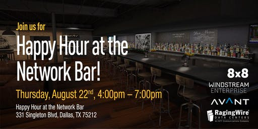 Happy Hour at the Network Bar