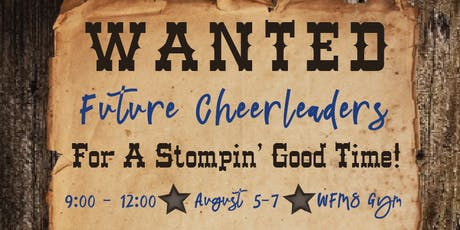 WF Mini Cheer Camp tickets