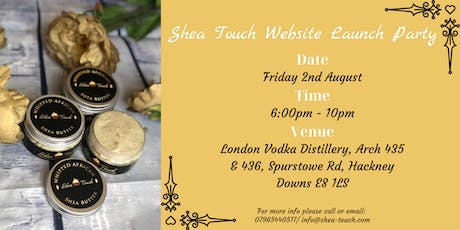Shea Touch Website Launch Party tickets