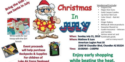 Christmas in July Charity Fundraiser
