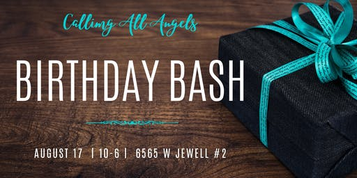 Calling All Angels Birthday Bash