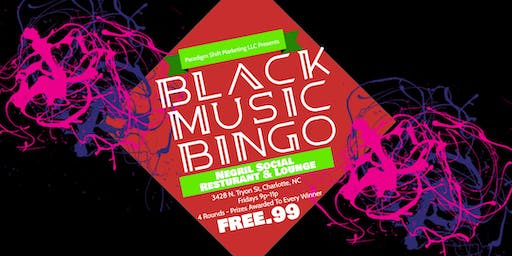 Black Music Bingo at Negril Social Restaurant & Lounge