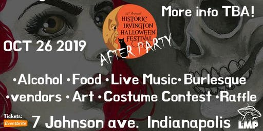 Irvington Halloween Festival AFTER PARTY