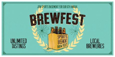 Sports Basement Bryant: BrewFest! tickets