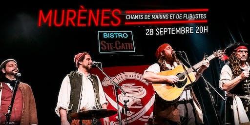 Les Murènes, chants de marins et de flibustes