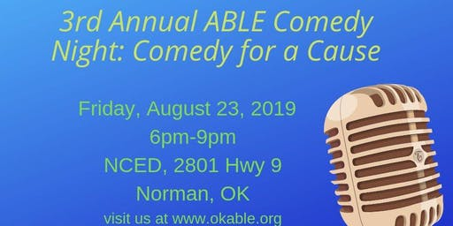 3rd Annual Comedy Night: Comedy for a Cause