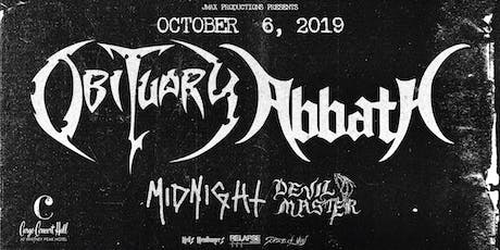 Obituary at Cargo Concert Hall tickets
