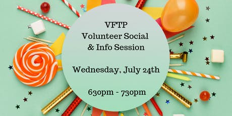 Volunteer Social & Info Session tickets
