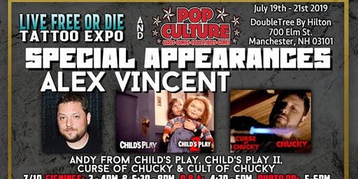LFOD Tattoo Expo Special Autograph Appearance- Alex Vincent