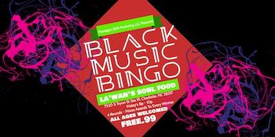 Black Music Bingo at La'*****'s Soul Food