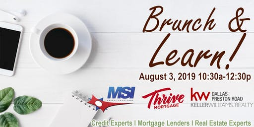 Brunch & Learn - A Home Buyers Seminar