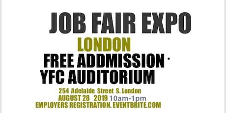 JOB FAIR & BUSINESS EXPO LONDON (EMPLOYERS/EXHIBITOR REGISTRATION tickets