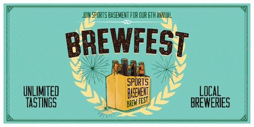 Sports Basement San Ramon: BrewFest!