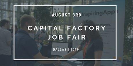 Capital Factory + The DEC 2019 Job Fair - DALLAS tickets